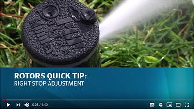 Adjusting Hunter Rotator Sprinkler Heads - Colorado's Best